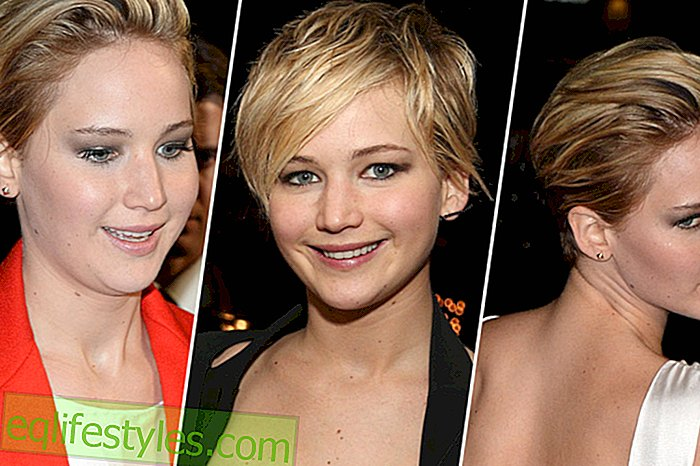 Trend Hairstyle: The Pixie Cut por Jennifer LawrenceJennifer Lawrence'Pixie Cut y sus variaciones de estilo