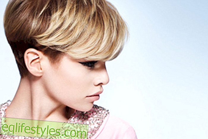 New trends for short hairstyles