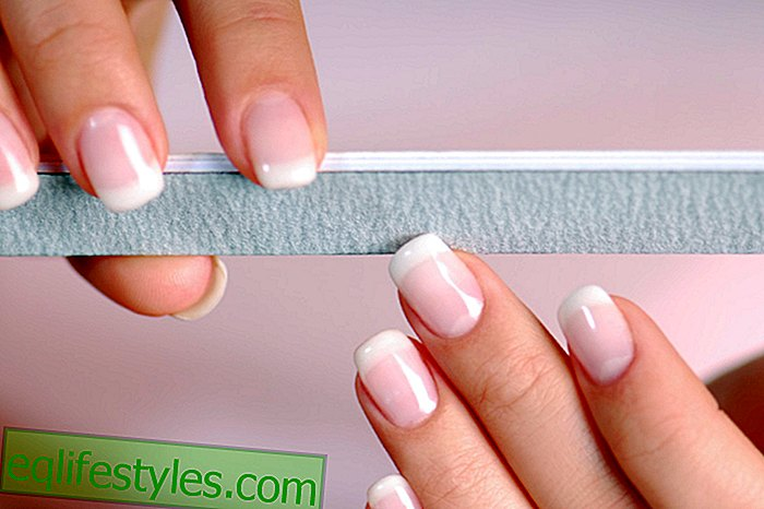 Manicure as from the professional