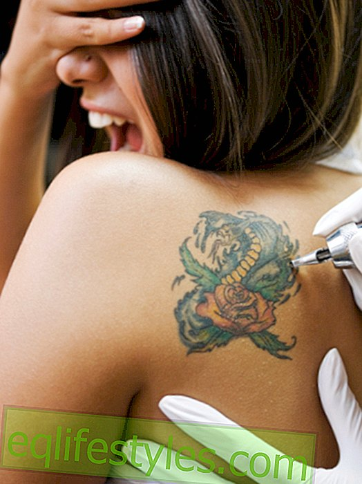 Beauty: Instead of laser: This cream is intended to remove tattoos