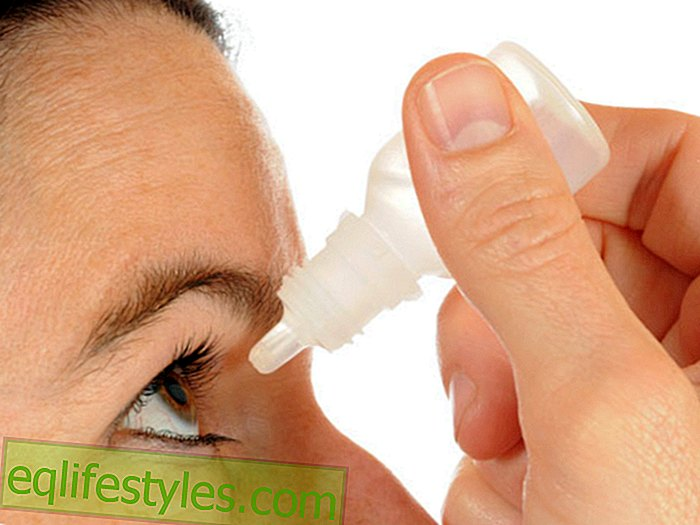 Dry eyes: Eye drops help with the treatment