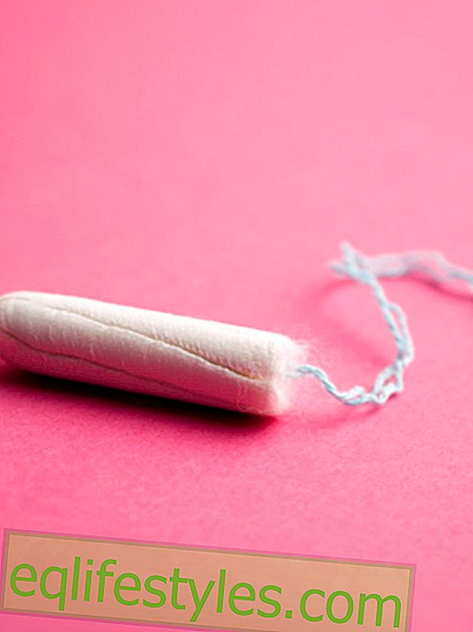 A tampon to share - for really best friends