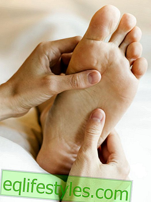 Foot reflexology: Everything is fine with gentle pressure