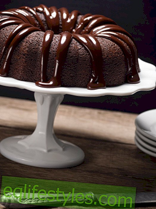 Juicy chocolate cake: secret ingredient beer