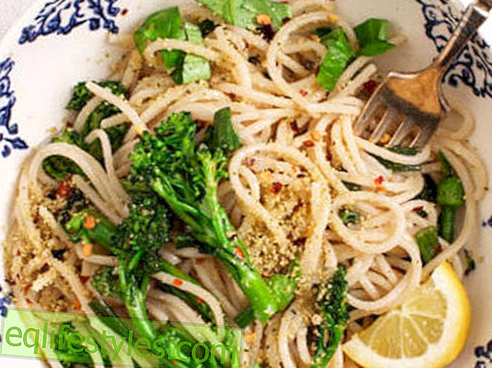 Cook: Fast and healthy pasta with broccoli and lemon