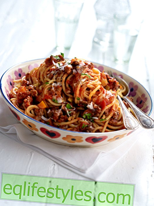 Cook - Spaghetti Bolognese: Original recipe from Bologna