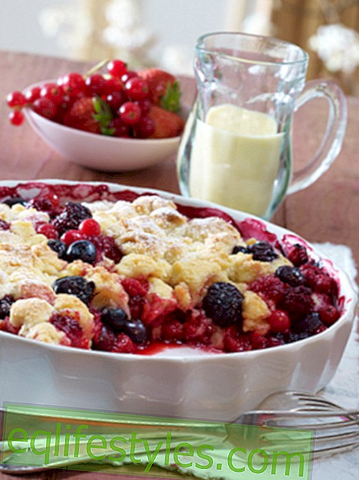 Crumble Recipes: Comfortably warm for the heart