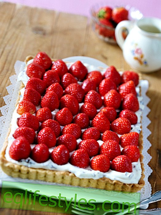 Strawberry Tarte Recipes: Oh là là, how fruity