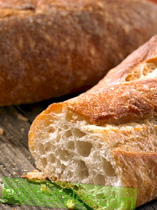 Bake bread yourself - without kneading