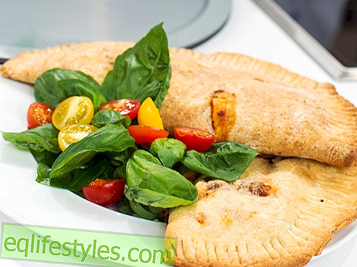 "To the pots, ready, delicious! ""Children's cooking show recipe: Calzone"