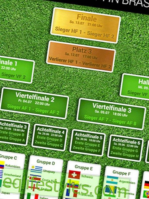 Wereldbeker 2014: het maxi-gameplan om af te drukken