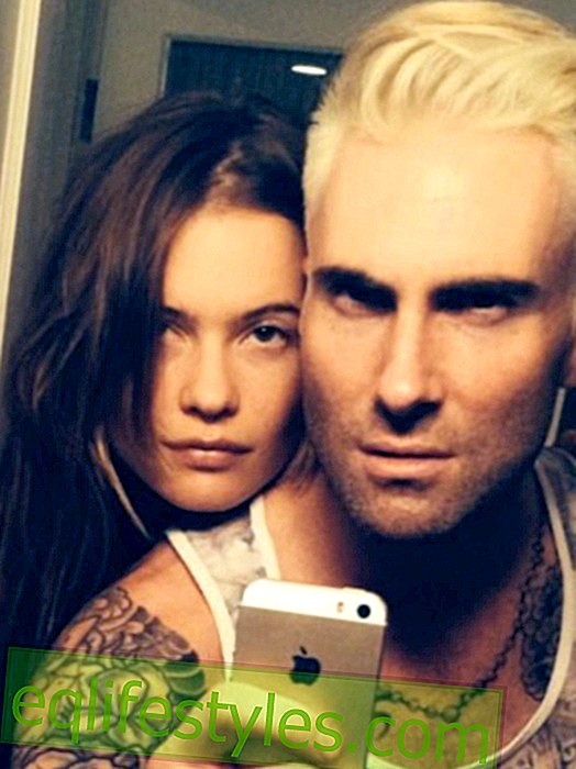 Life: Adam Levine is blond - and still hot?
