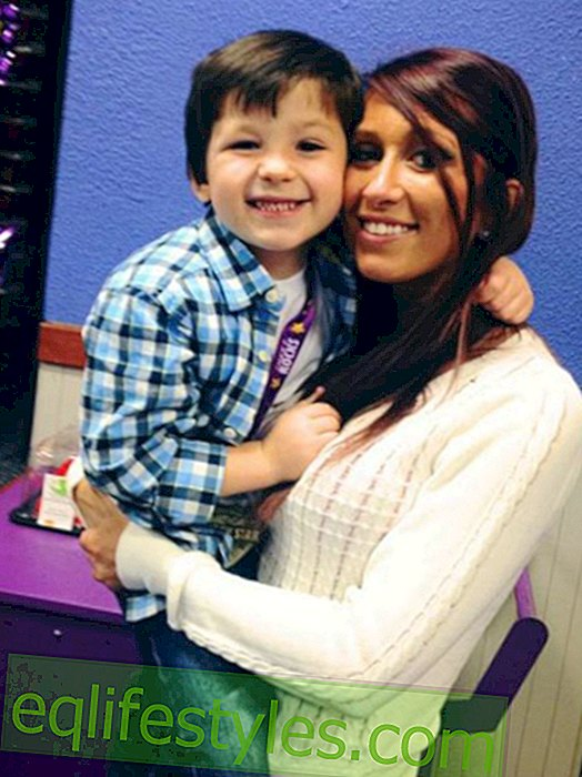 This six-year-old is dating his mother