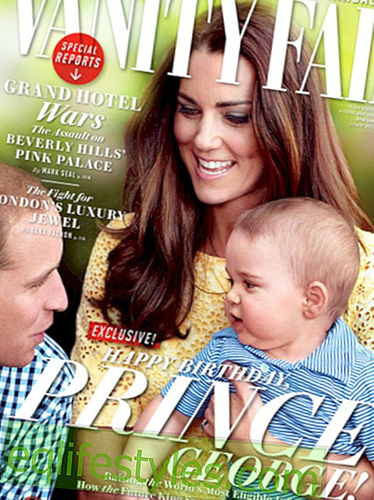 Prince William: Retoucheerd voor de Vanity Fair Cover