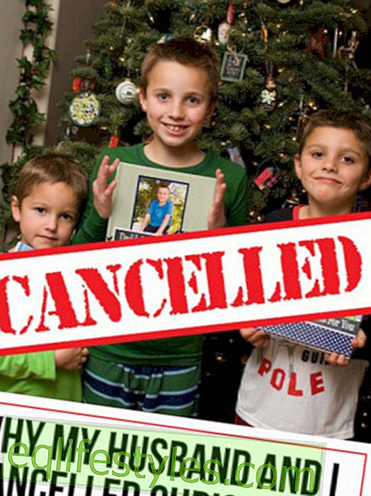 Life - As a lesson for her sons: Mother lets Christmas fail