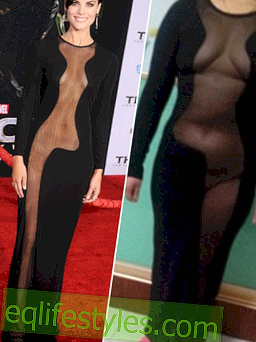 Chinese woman ordered Hollywood nude dress - the everyday comparison