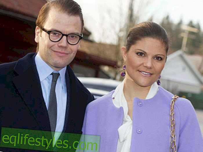 Prince Daniel: With new glasses