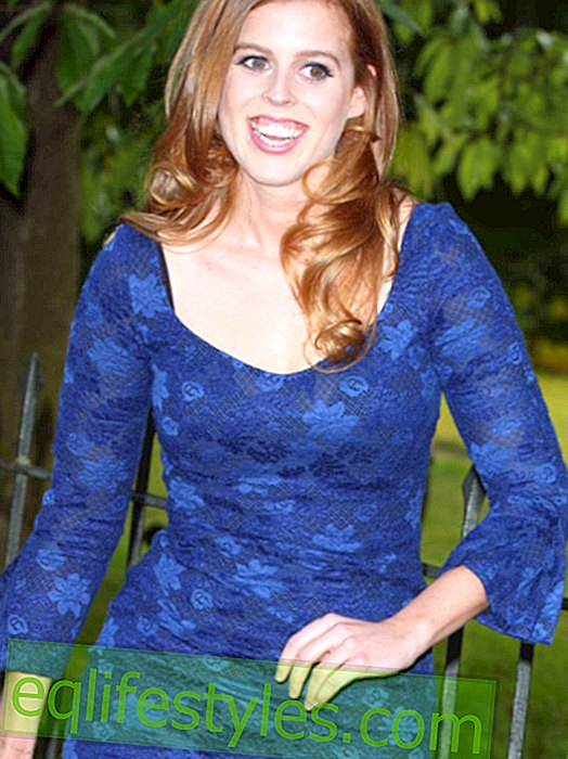Princess Beatrice: Suddenly slim