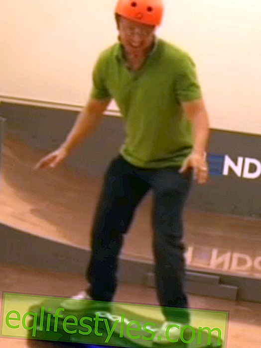 Hoverboard fans beware: The flying skateboard is coming!