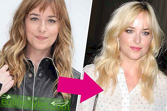 Dakota Johnson: Anastacia Steele is blond now