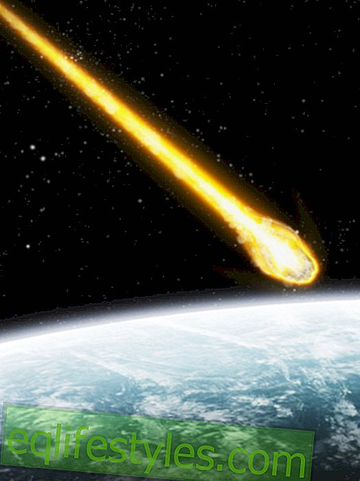 Newly discovered asteroid flies toward the earth
