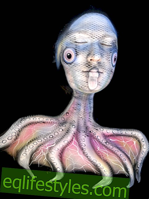 Protest action: Bodypaint against deep-sea fishing