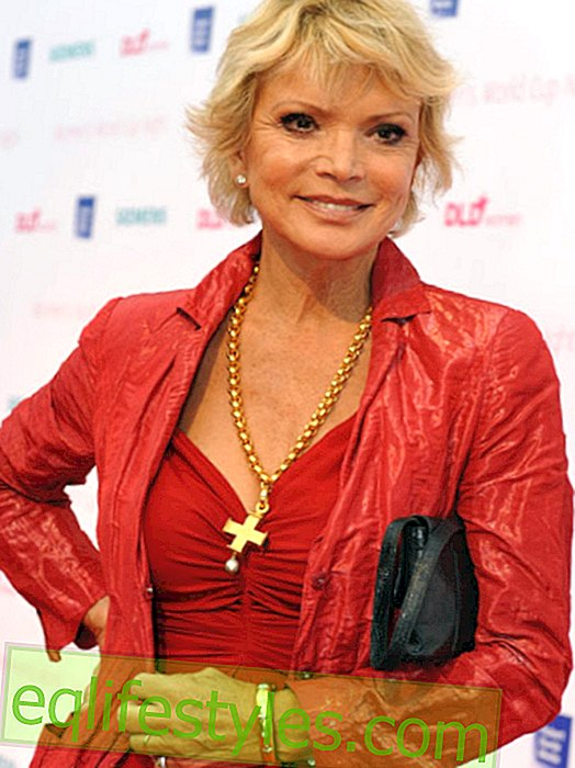 Uschi Glas: The TV star has not forgotten the fraud on the part of the ex-husband