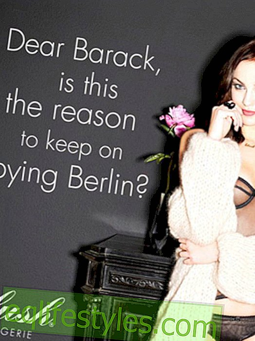 Lingerie campaign provoked with wiretapping scandal