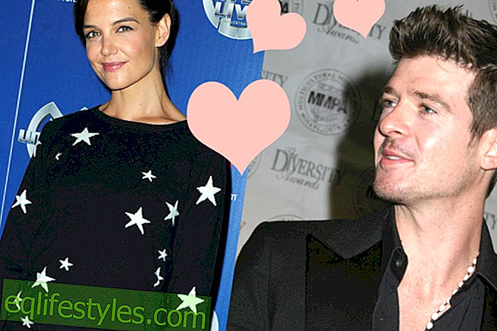 "Kas Tom Cruises-ex Katie Holmes on ""Blurred Lines"" laulja?"