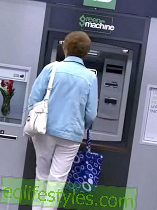 Class Video: ATM dispenses gifts