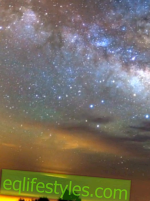 So beautiful is the starry sky over Tenerife