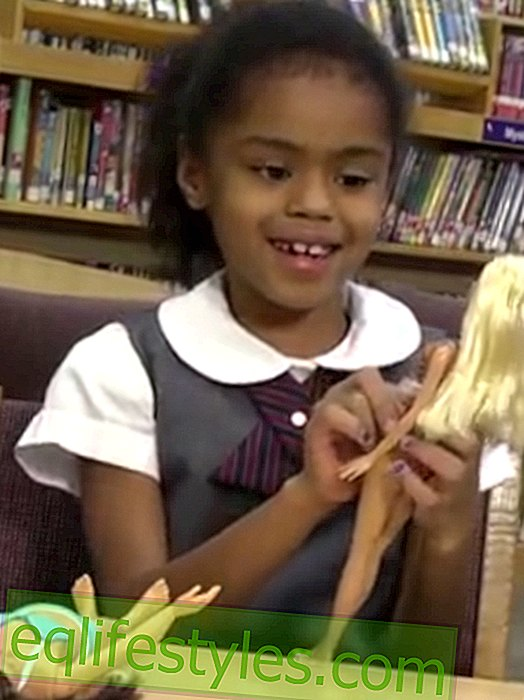 Video: How children react to Barbie with normal dimensions