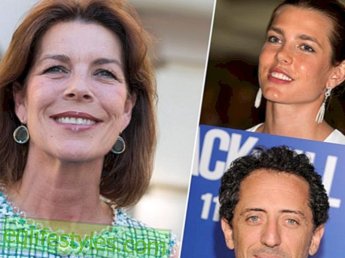 Princess Caroline: Holiday with a lot of love in the air