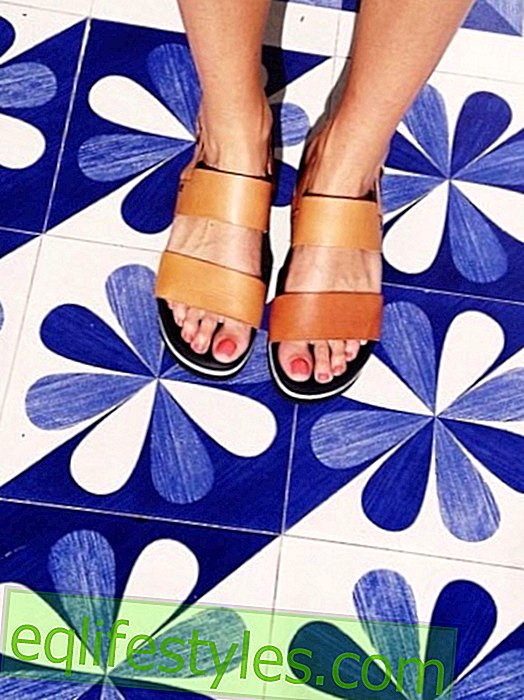 Instagram trend: Now comes the selfeet!