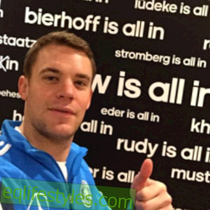Manuel Neuer: After separation from girlfriend Kathrin Gilch a new one?