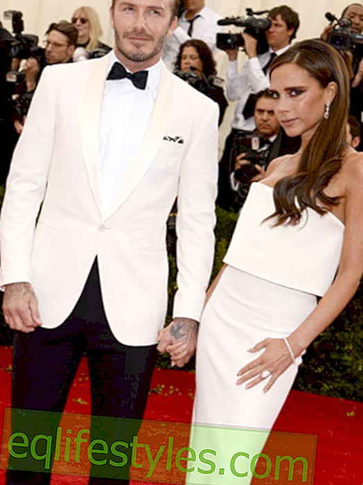 Victoria Beckham tweets dress from the first date with David
