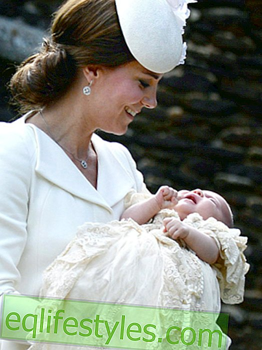 An exclusive christening gift for Princess Charlotte