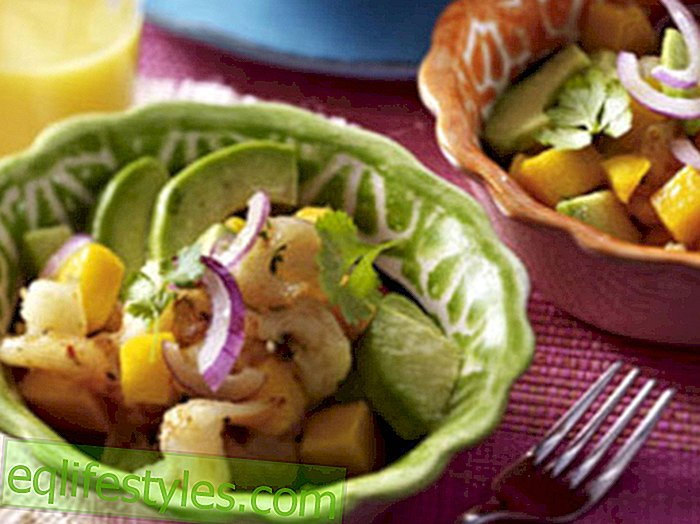 Life - Delicious simplicityFruity shrimp avocado salad with mango