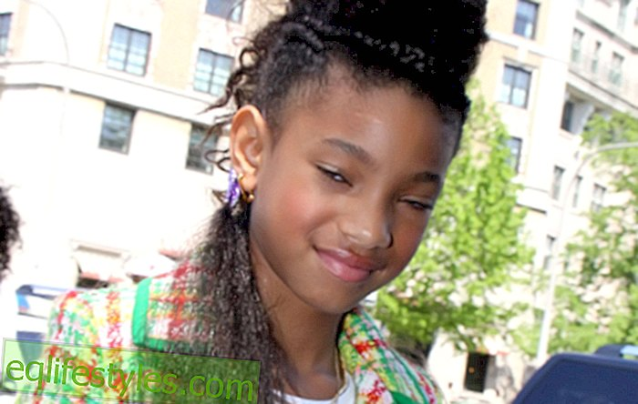 "život - Willow Smith privatno je radio u filmu ""Whip My Hair"""