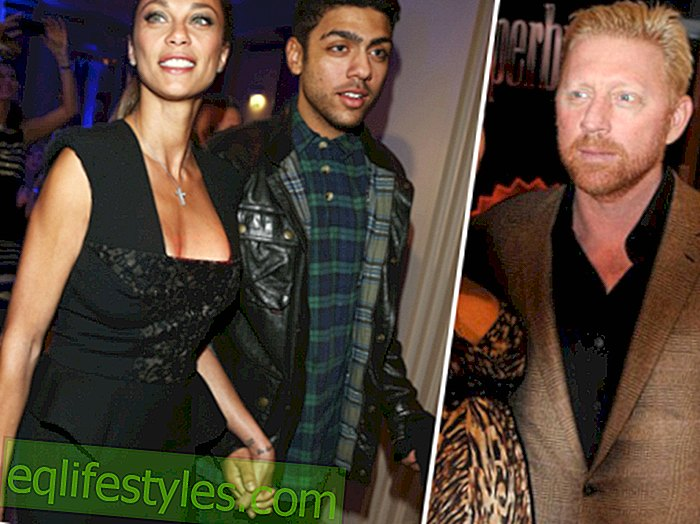 Boris Becker: What's up with Lilly and his big son?