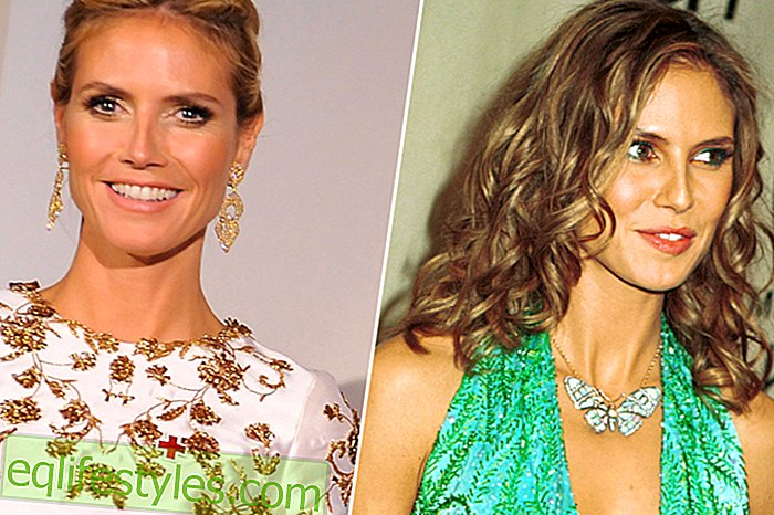 Life: Heidi Klum: 5 times optically totally changed