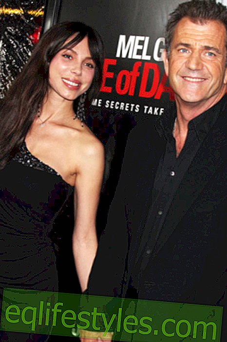 Mel Gibson and Oksana: Out and about