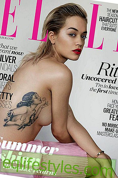 Life - Rita Ora top without on the cover