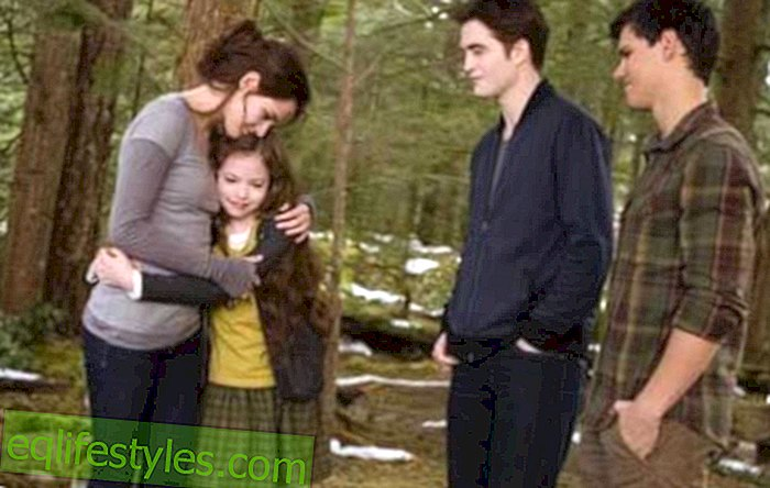 Renesmee from Breaking Dawn - Part 2 was initially a robot