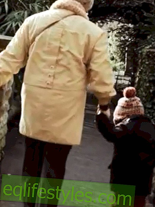 Touching video: The relationship between grandmother and grandson