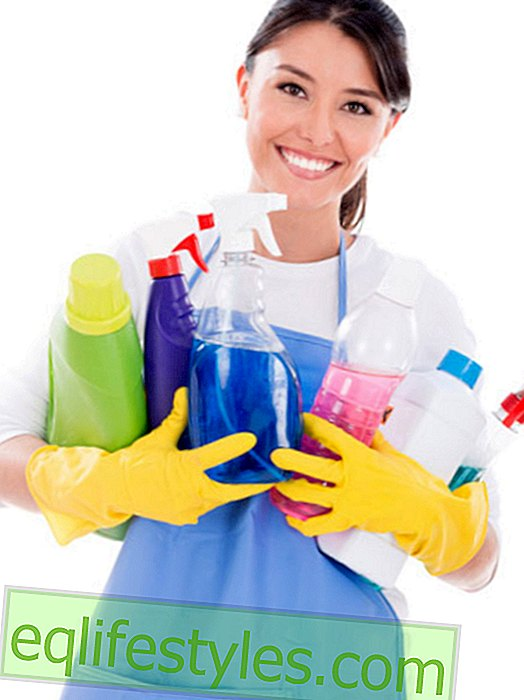 Life - Hygiene in the household: Use household gloves properly