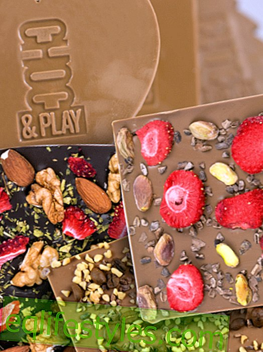 Hermosas ideas de chocolate: Regalos de chocolate de CHOCOLISSIMO