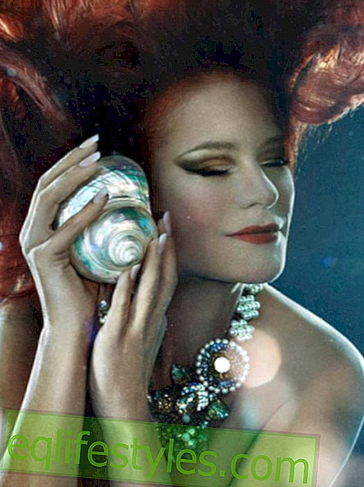 Life - Andrea Berg: As a dreamlike mermaid to Atlantis
