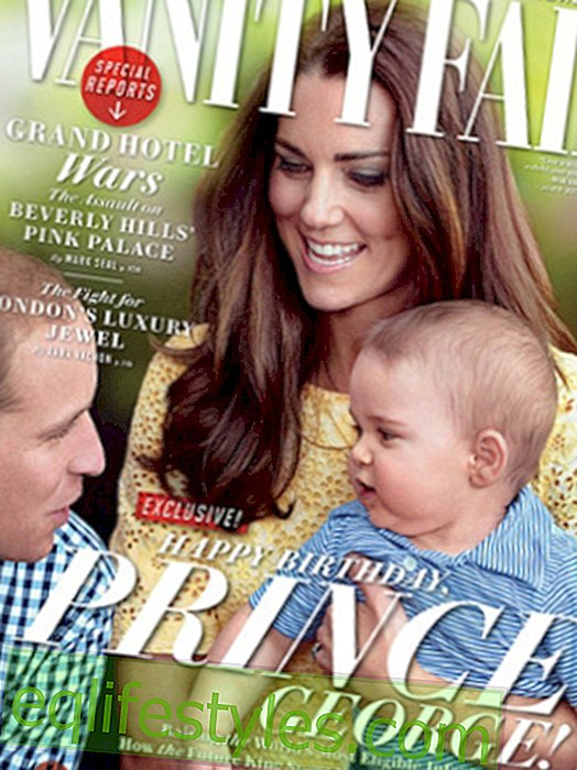 Life: Prince George: Cover for the first birthday