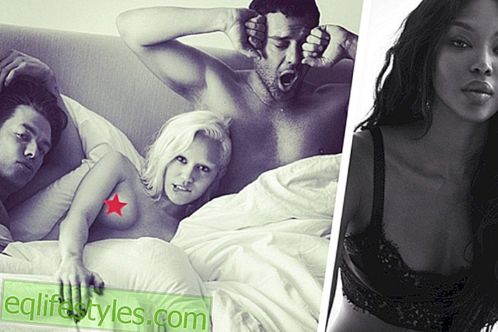 Miley Cyrus bare-chested at the threesome